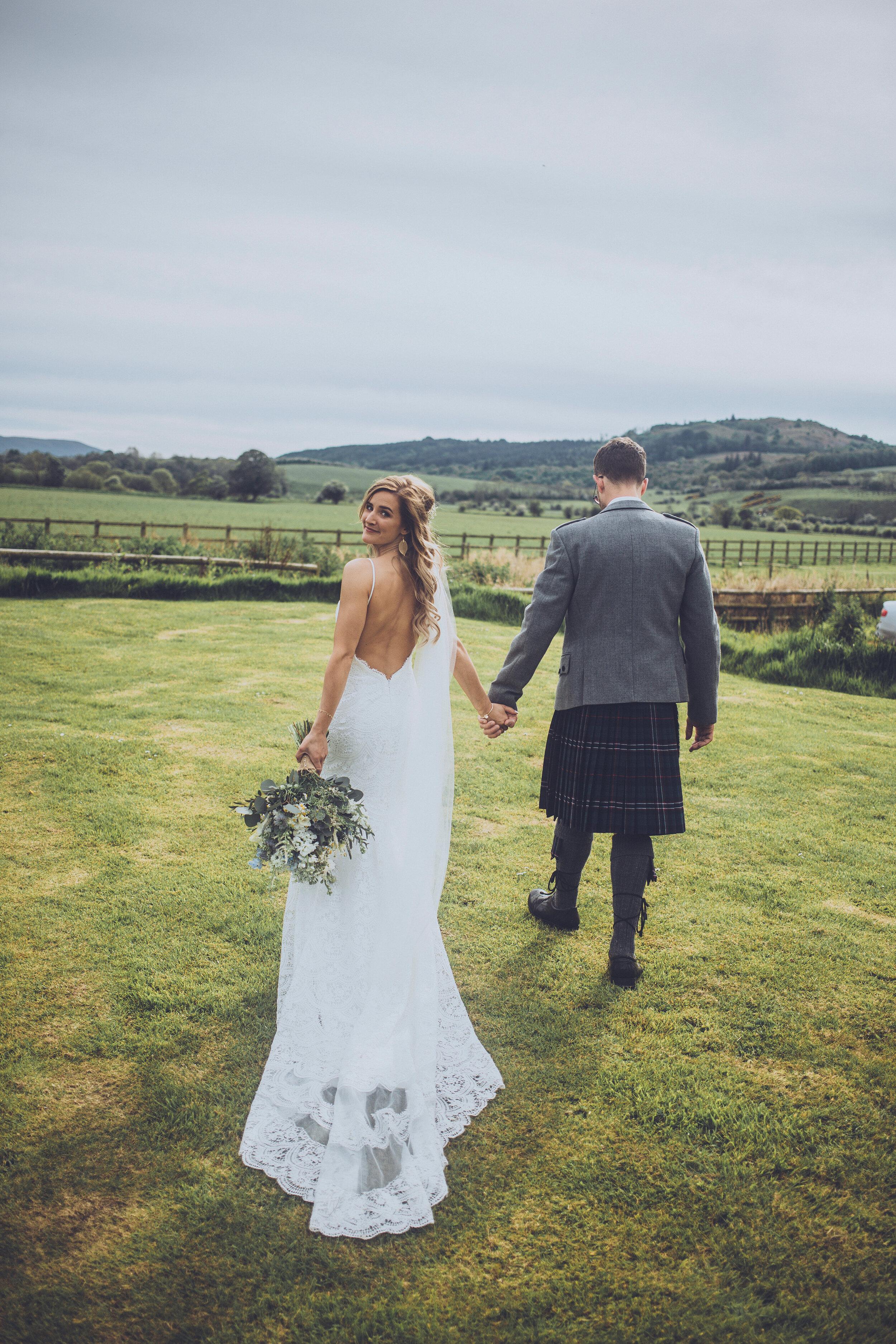 Dalduff Farm Ayrshire Wedding Photography - Claire Basiuk Photographer - 21.jpg