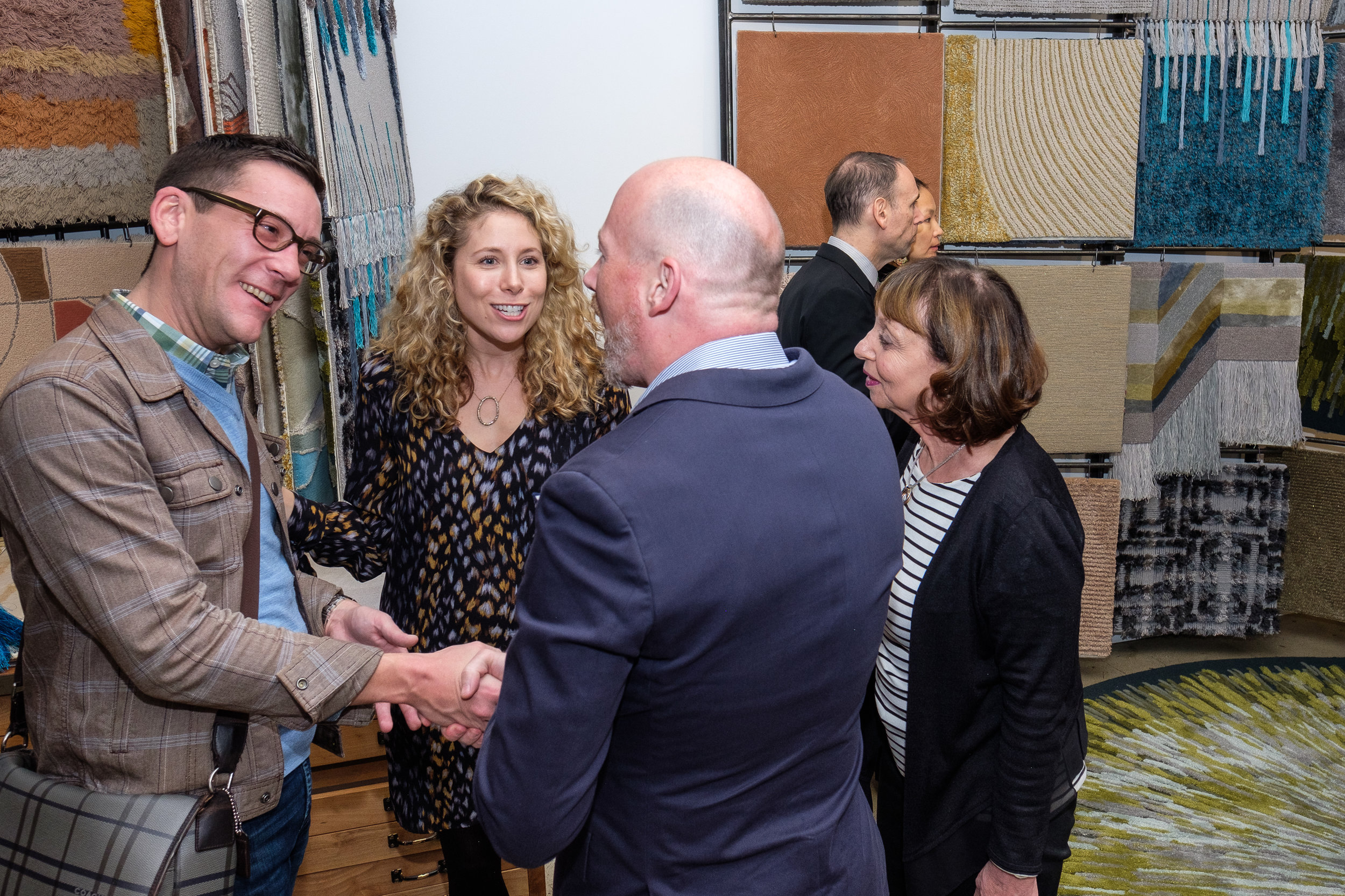 Bryan Jamison (1st Dibs), Laine Alexandra Blumenkopf (1st Dibs), Jonathan Arnold (Edward Fields), Liz Nightingale (D&D Building)