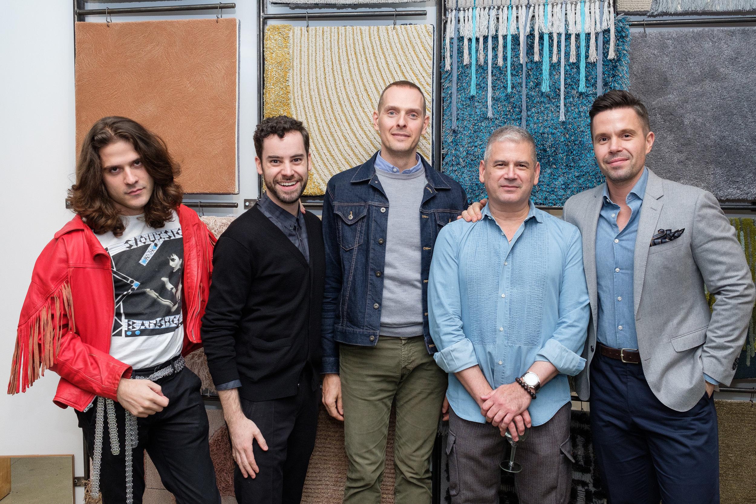 Agustin Rein (Peter Marino), Derik Bradley (Holly Hunt), Stefan Steil (Steilish Interiors), Fabio Mejia (Edward Fields), Andrew Torrey (BA Torrey)