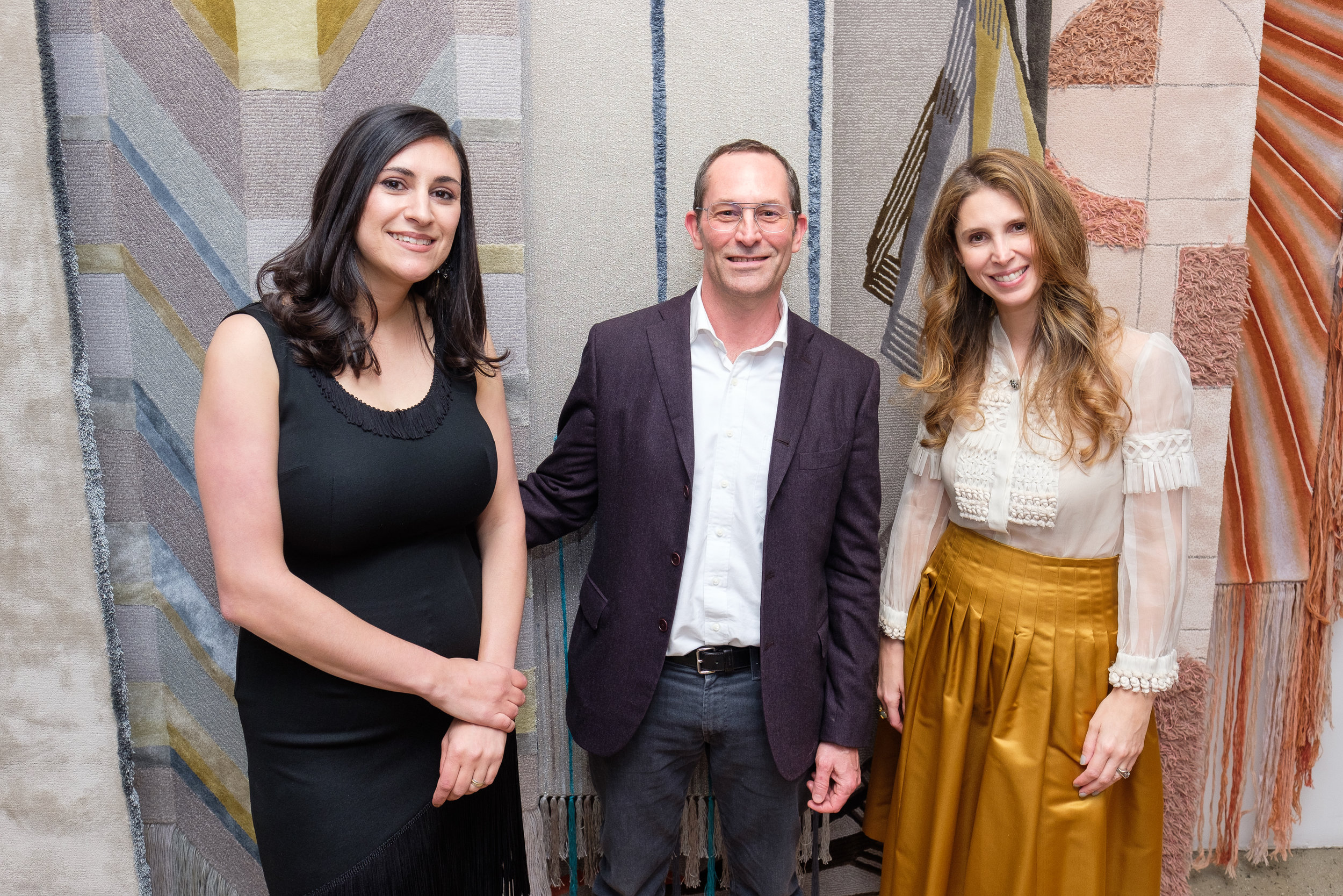 Ariana Massouh (Edward Fields), David Hamilton (Hearst magazines), Juliana Polastri (Edward Fields)