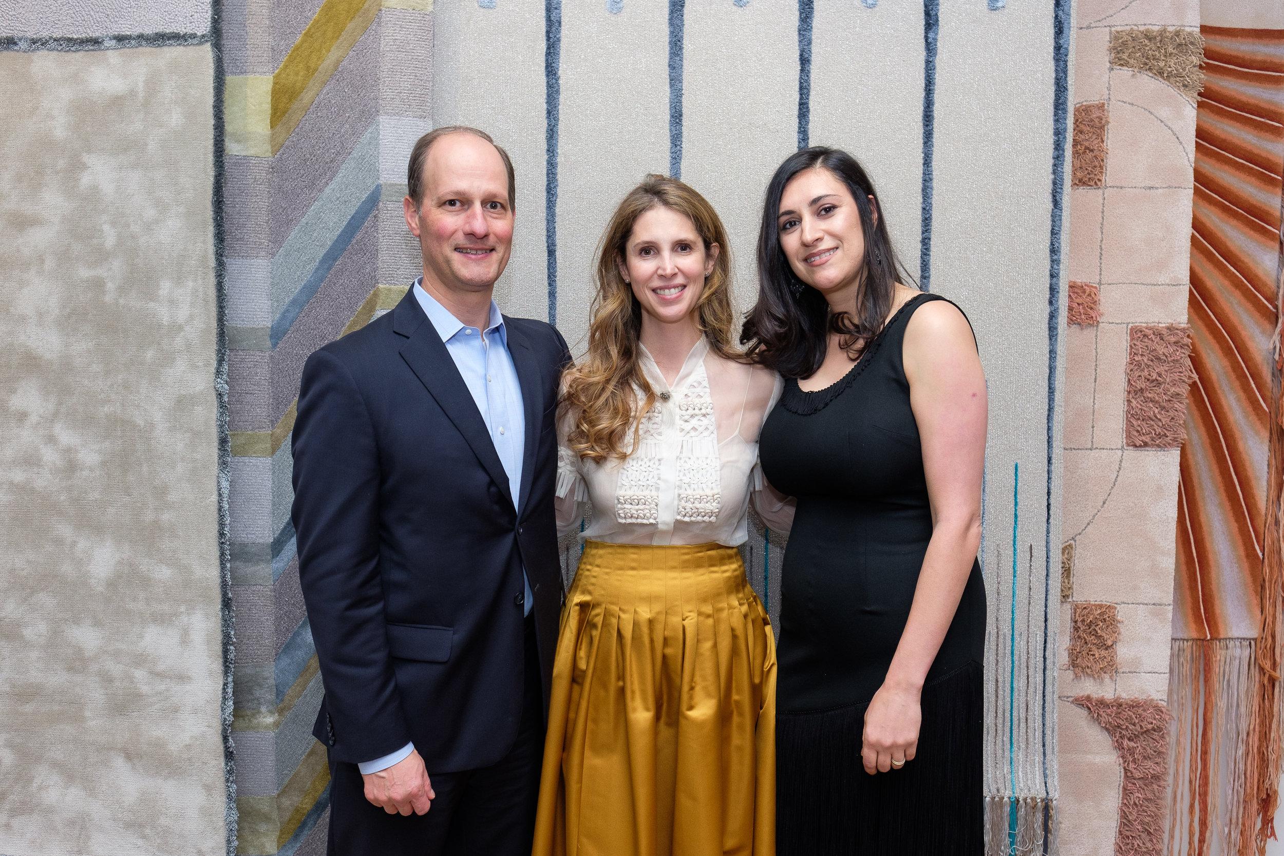 US Managing Director Mason Morjikian, Juliana Polastri, Ariana Massouh (all Edward Fields)