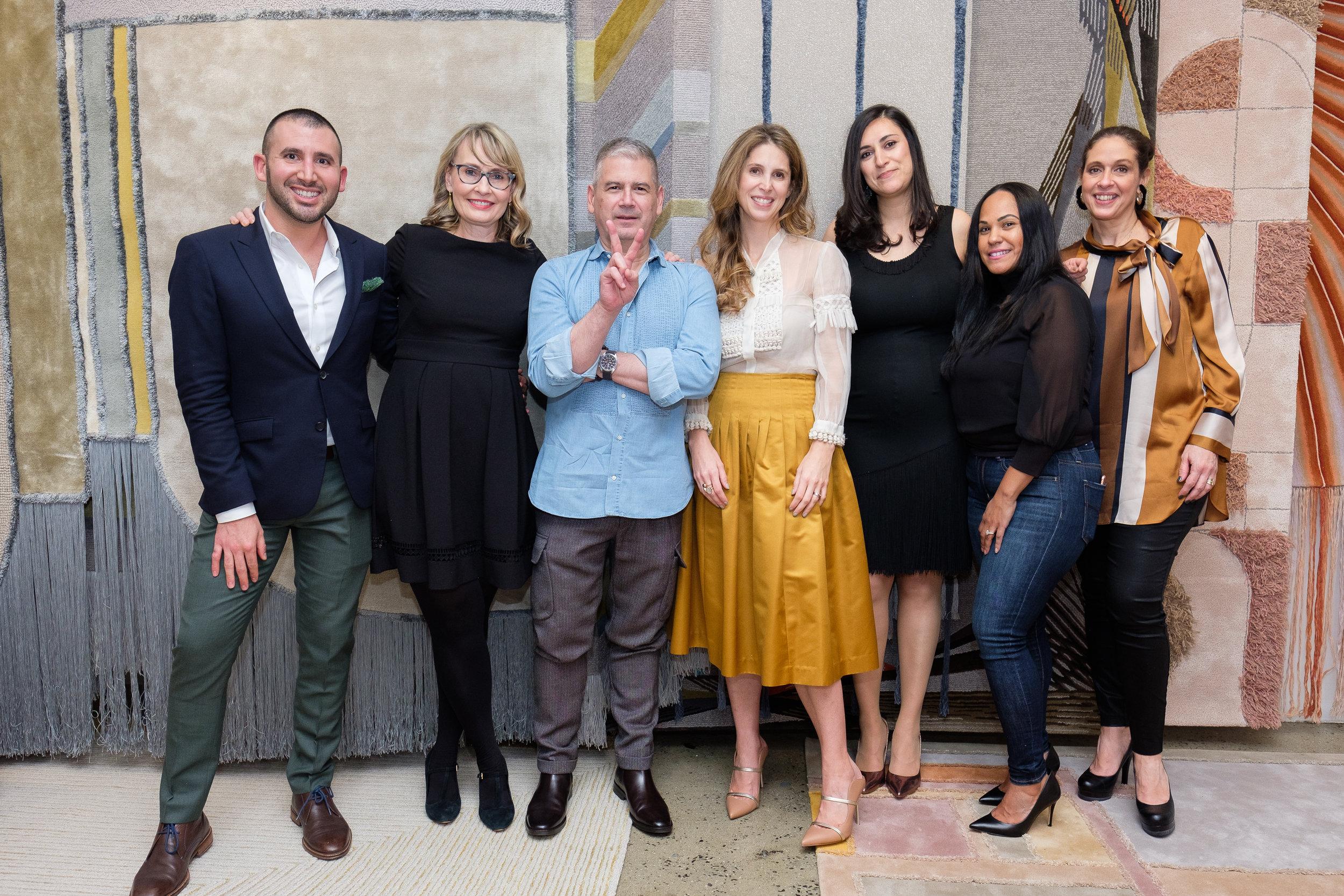 Alan Gilmer, Karen Majestic, Fabio Mejia, Juliana Polastri, Ariana Massouh, Mimi Pimentel, Bethany Hopf (all Edward Fields)