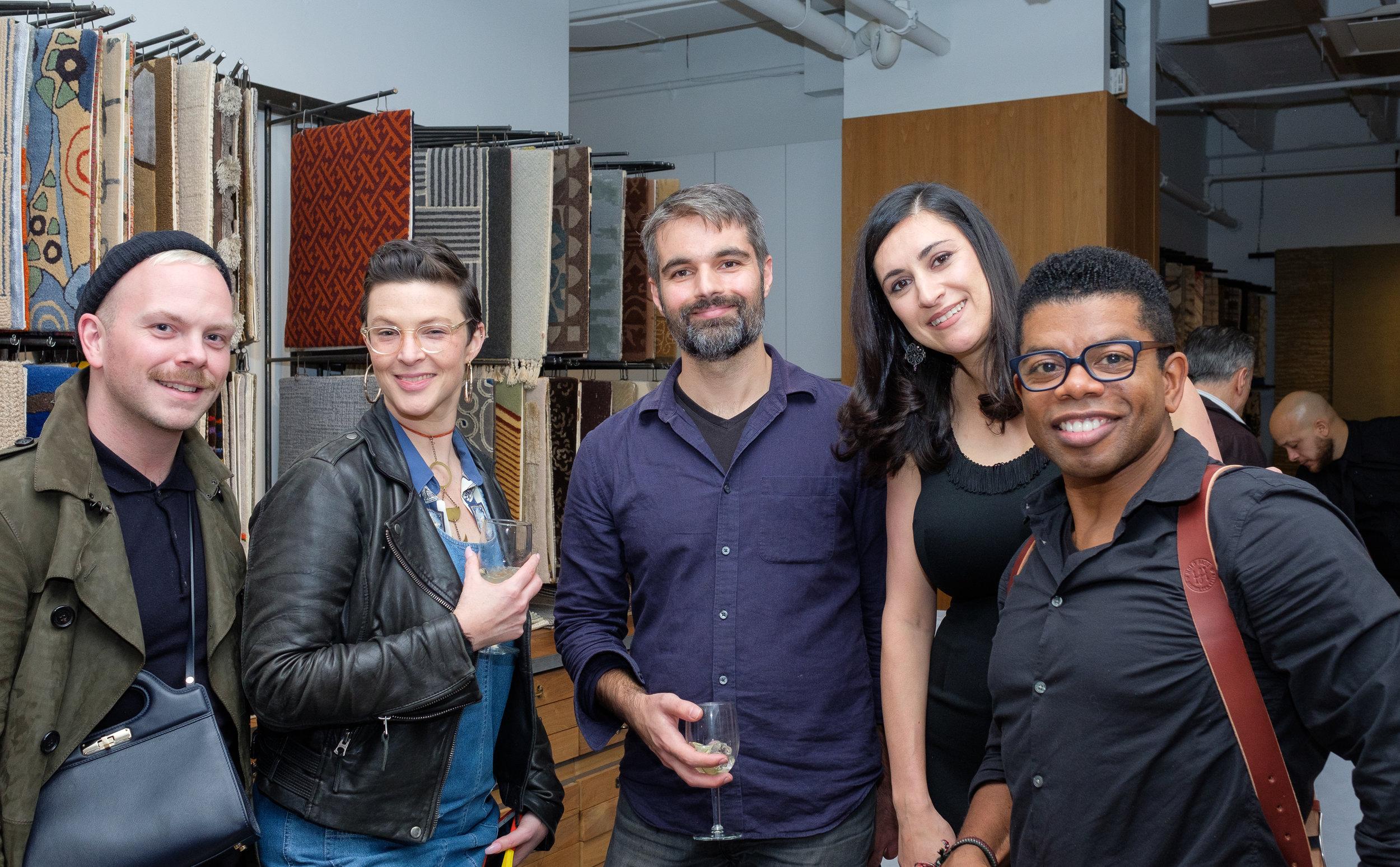 Dane Pressner, Lindsey Stamps, Dan Webre (all D'Aquino Monaco); Ariana Massouh (Edward Fields); Kirk Lawrence (photographer)