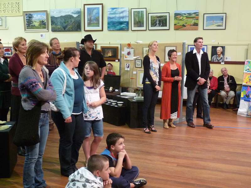 Opening Night at the Creative Mountain Arts Exhibition.