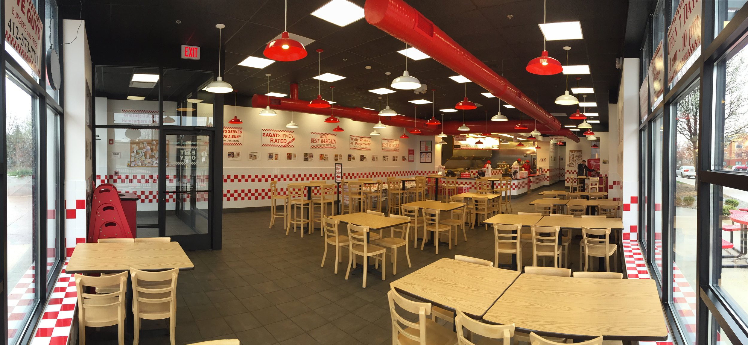Five Guys Dundrum