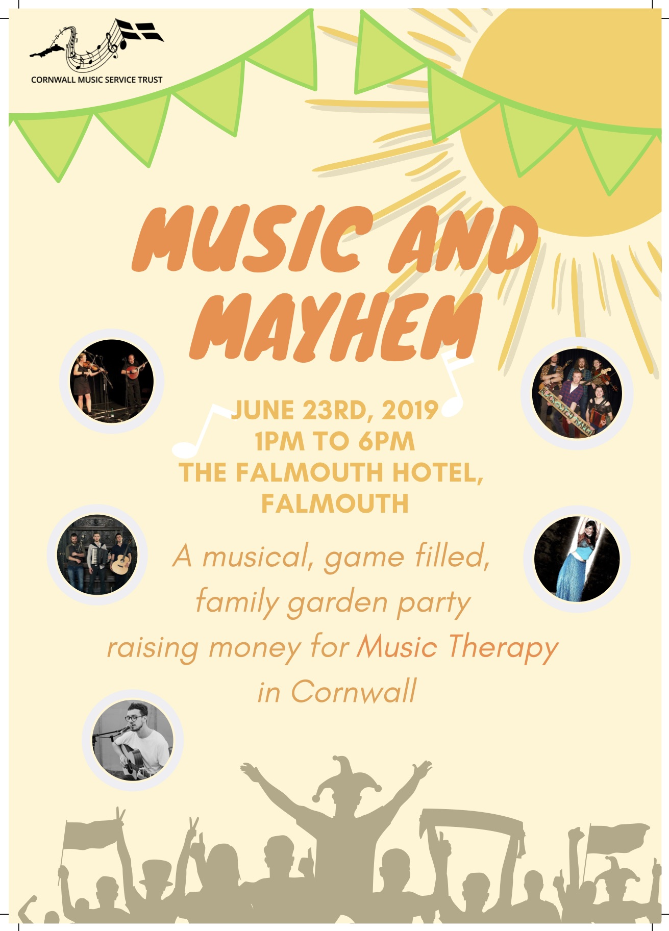 'Music and Mayhem' Music Therapy Fundraiser Leaflet 1.jpg