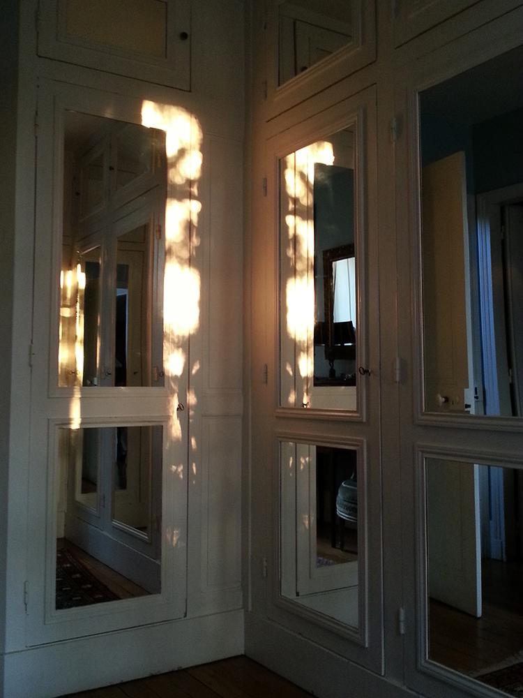 Jeux de lumières, reflets de matières.