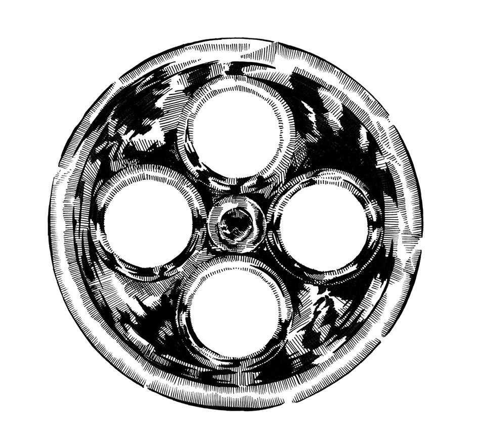 © Ruth Emma Fox parts wheel alone.jpg