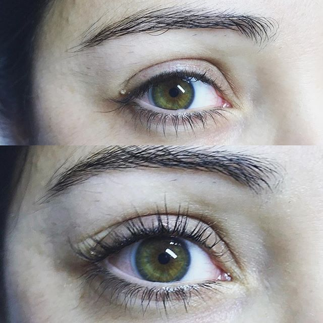 Thanks to my client, who reminded me to take before AND afters, here is a better look at the Lash Lift service! Look how much this opens her eyes! Check out my previous post for some more information on this service 🖤 #sirenandproper #naturallashes #lashlounge #ellebanna #lashlift #lashperm #lashliftandtint #lashcurl #grandrapids #grandrapidslashextensions #cheekystrut