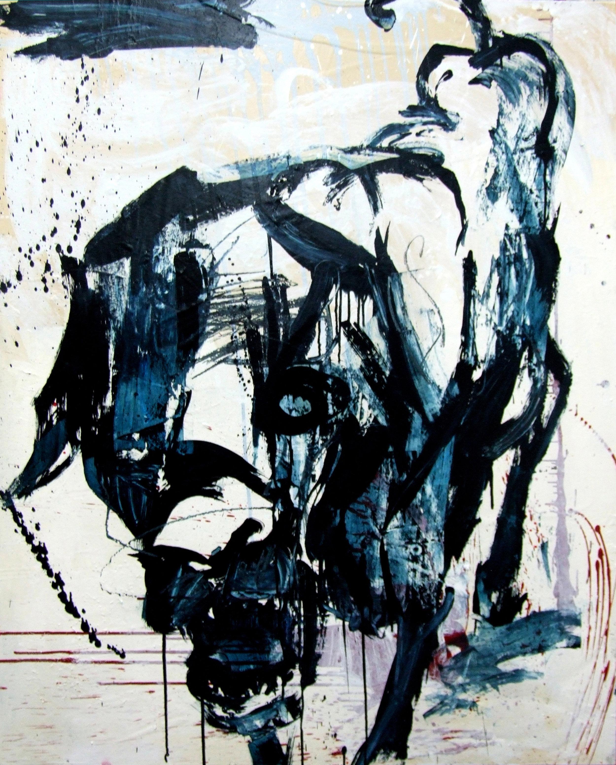 Blue Stray Dog