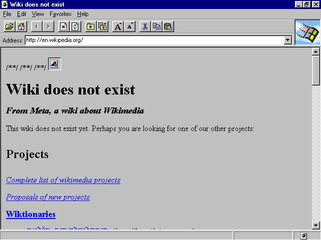 Internet Explorer's Interface - Version 1.0