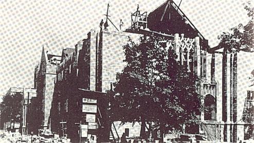 Building First Methodist.
