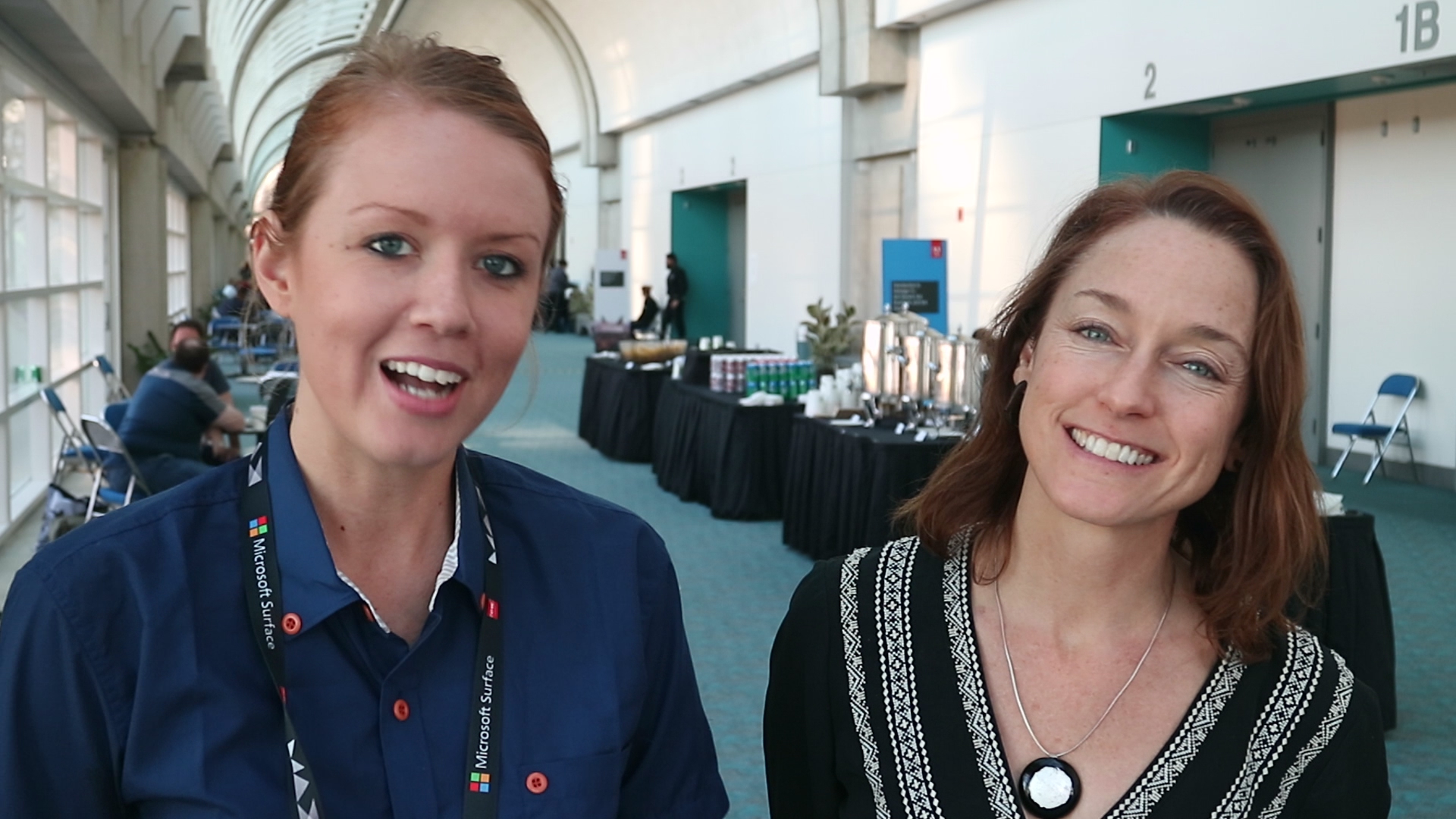Left to Right. Premiere Gal and Christine Steele, Premiere Pro Trainer & Documentary Filmmaker at Steele Pictures. Her favorite tool in Premiere Pro is optical flow time-remapping.