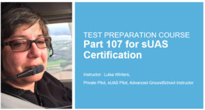 Taught by Luisa Winters, a Pilot, Advanced Ground School Instructor and an Adobe Certified Master Instructor!
