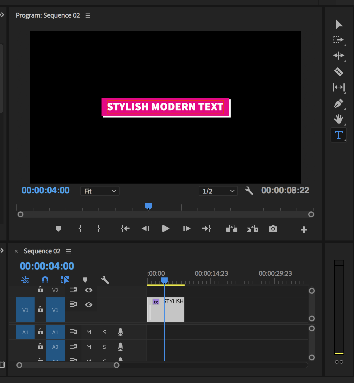 Free Stylish Title Motion Graphics Template Premiere Gal