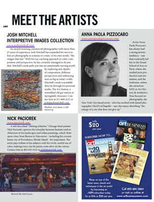 """Art Business News"" American Magazine 2013"