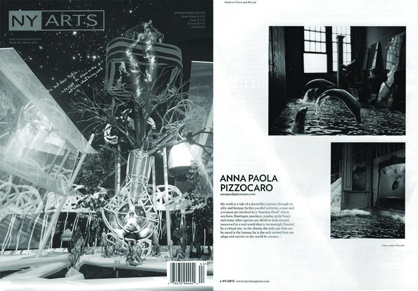 NY ARTS American National Magazine, Winter 2013