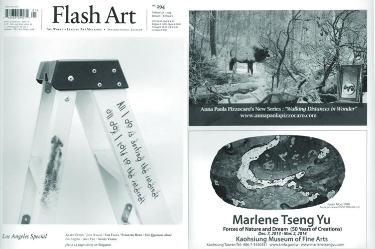 """Flash Art"" International Magazine Winter 2014"