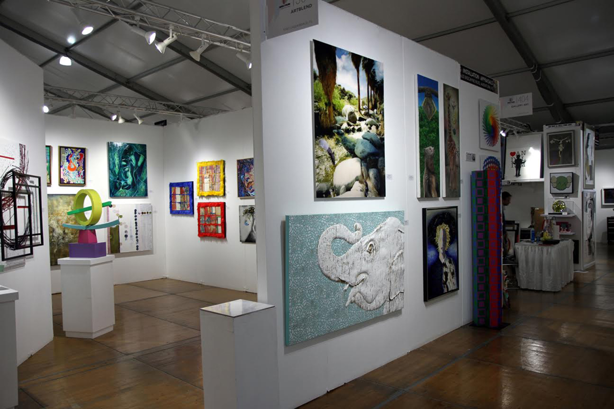 December 6-10 2016, Spectrum Art Fair, represented by Artblend Gallery, 1700 NE 2nd Ave, Miami, FL 33132, USA.