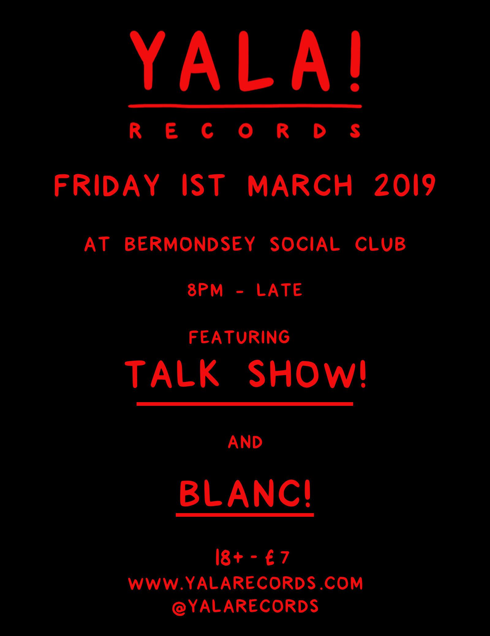 Talk show blanc london poster.jpg