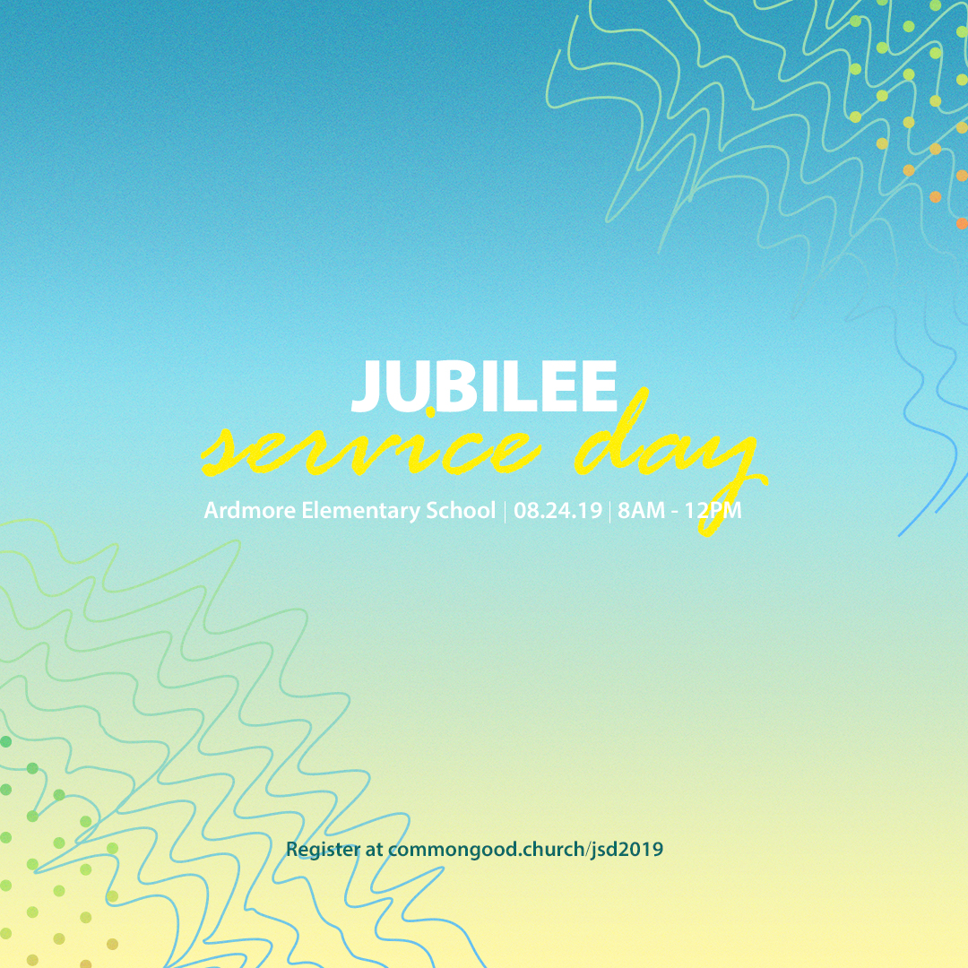 Jubilee Service Day  August 24