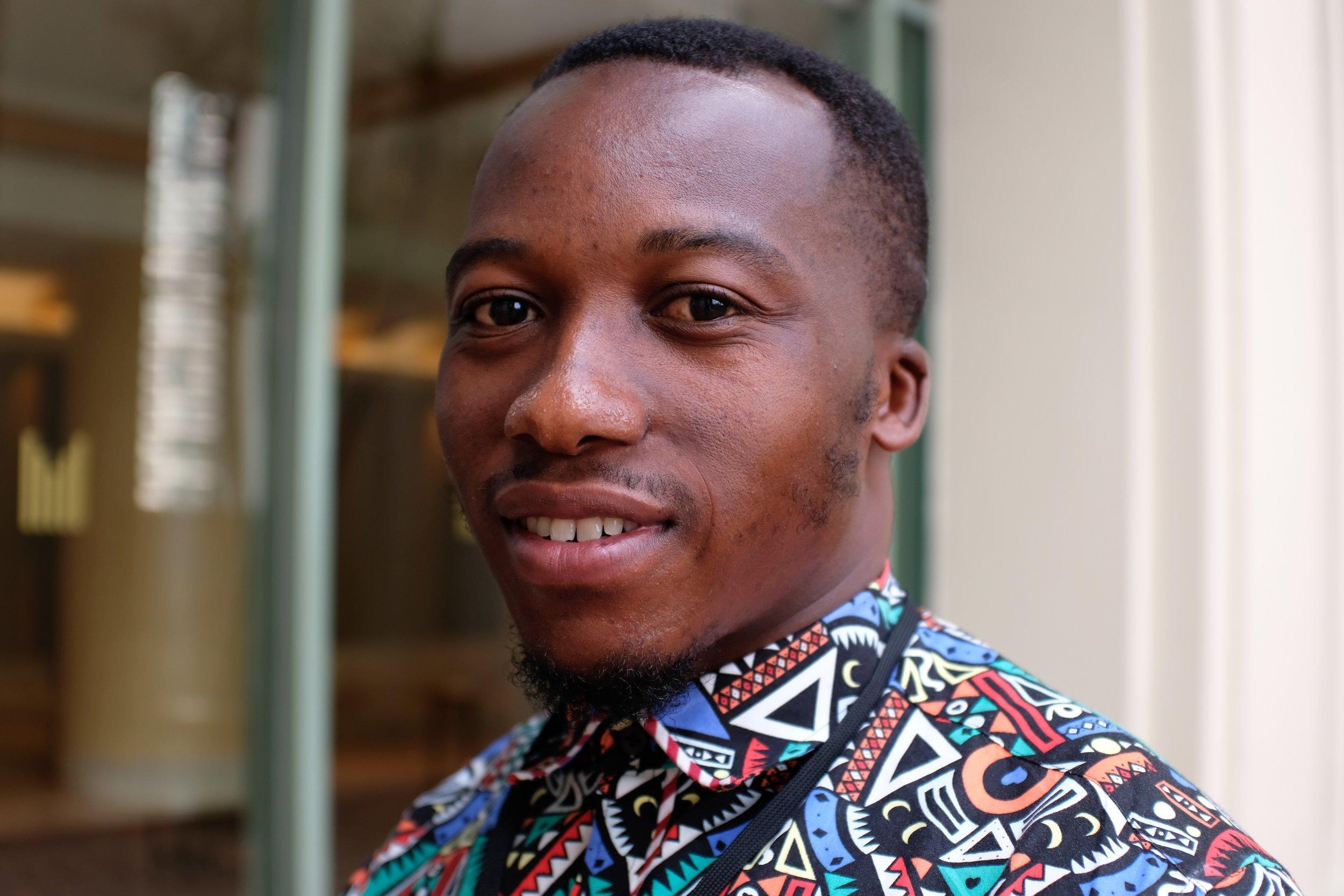 Richard Appiah Akoto from Ghana to Singapore