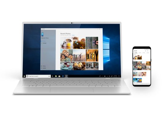 Microsoft's Your Phone app is about having Windows 10 make nice with Android.  (Photo: Microsoft)