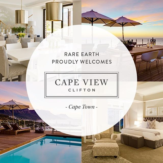 NEW LAUNCH: We are delighted to welcome a brand new property to the Rare Earth Retreats portfolio, Cape View Clifton. Situated in Cape Town, this world-class boutique hotel offers dramatic and truly unique sea views, expansive suites and a chance for guests to experience utter tranquility and exceptional service, all within minutes of Cape Town's top beaches, restaurants and sights. Find out more via the link in our bio.
