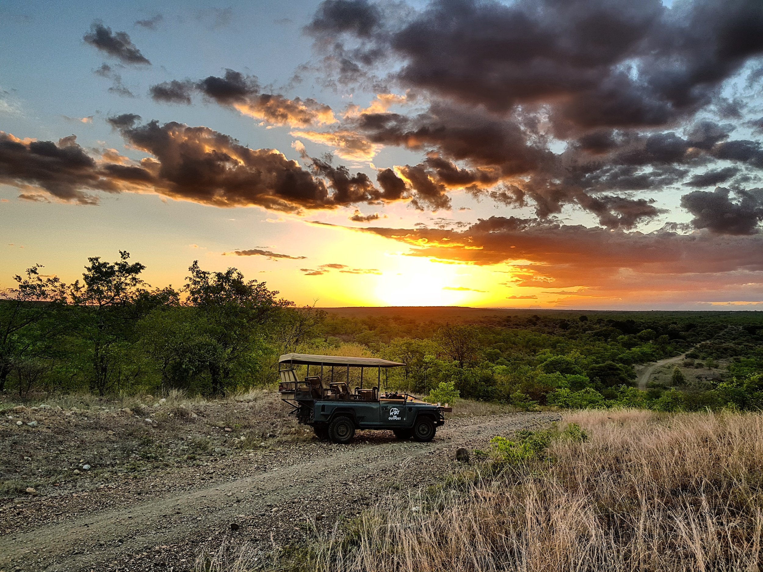 PRE-BANYINI WONDERS: Another beautiful African sunset over the far north-western tip of the Makuleke area.
