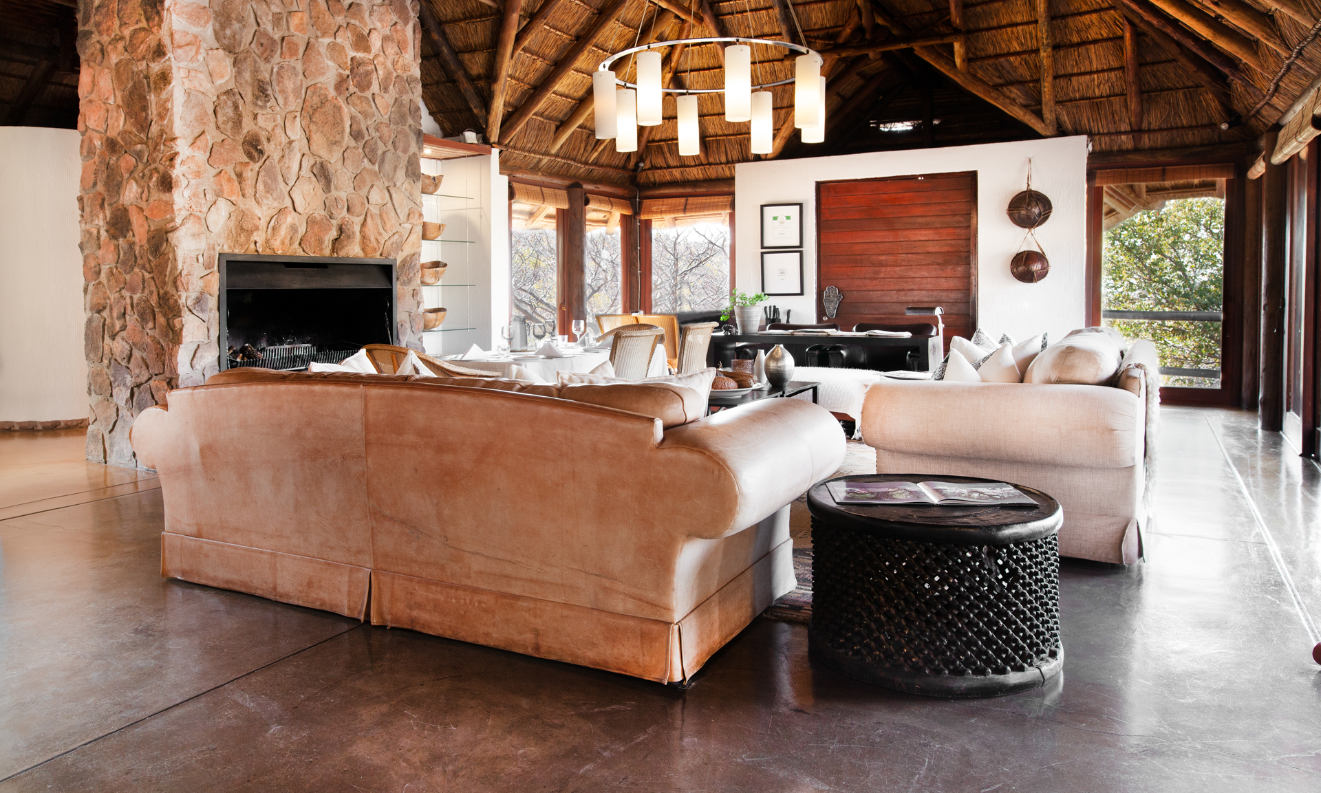 PEACE AND TRANQUILITY: Next stop was Tshwene Lodge. There was something about sleeping up in the tree canopy that had me completely relaxed during my stay.