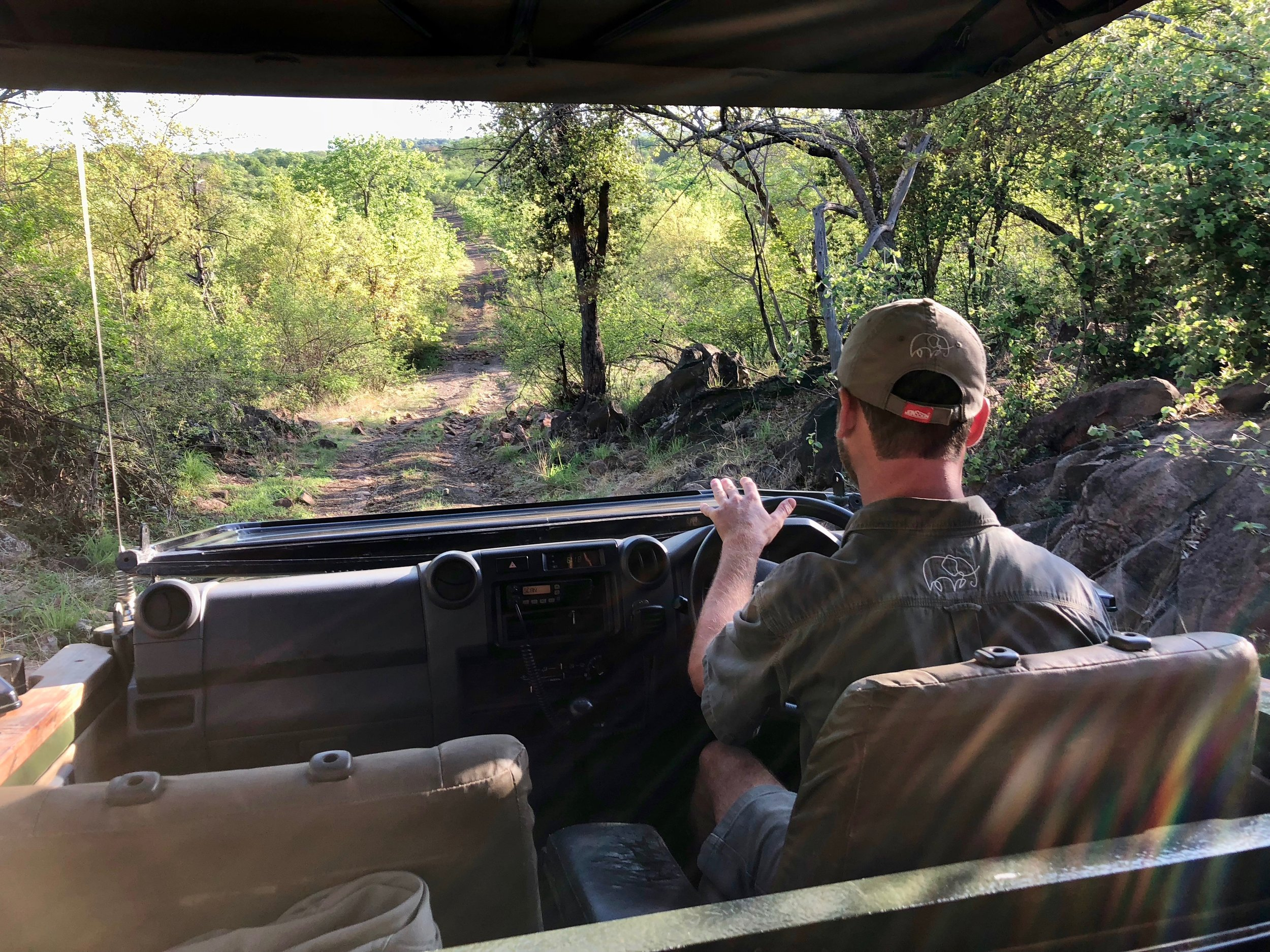 14. Rocky road at the start of a morning game drive.jpg