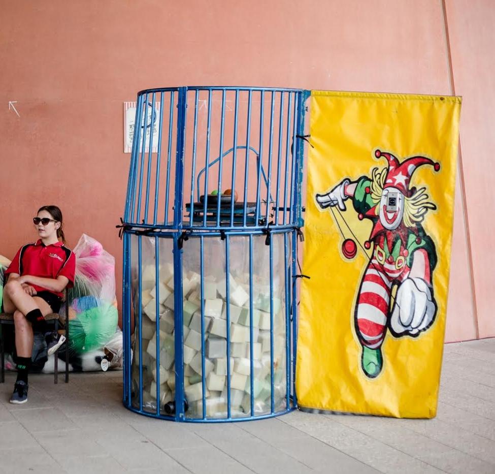 Clown Dunk Tank -