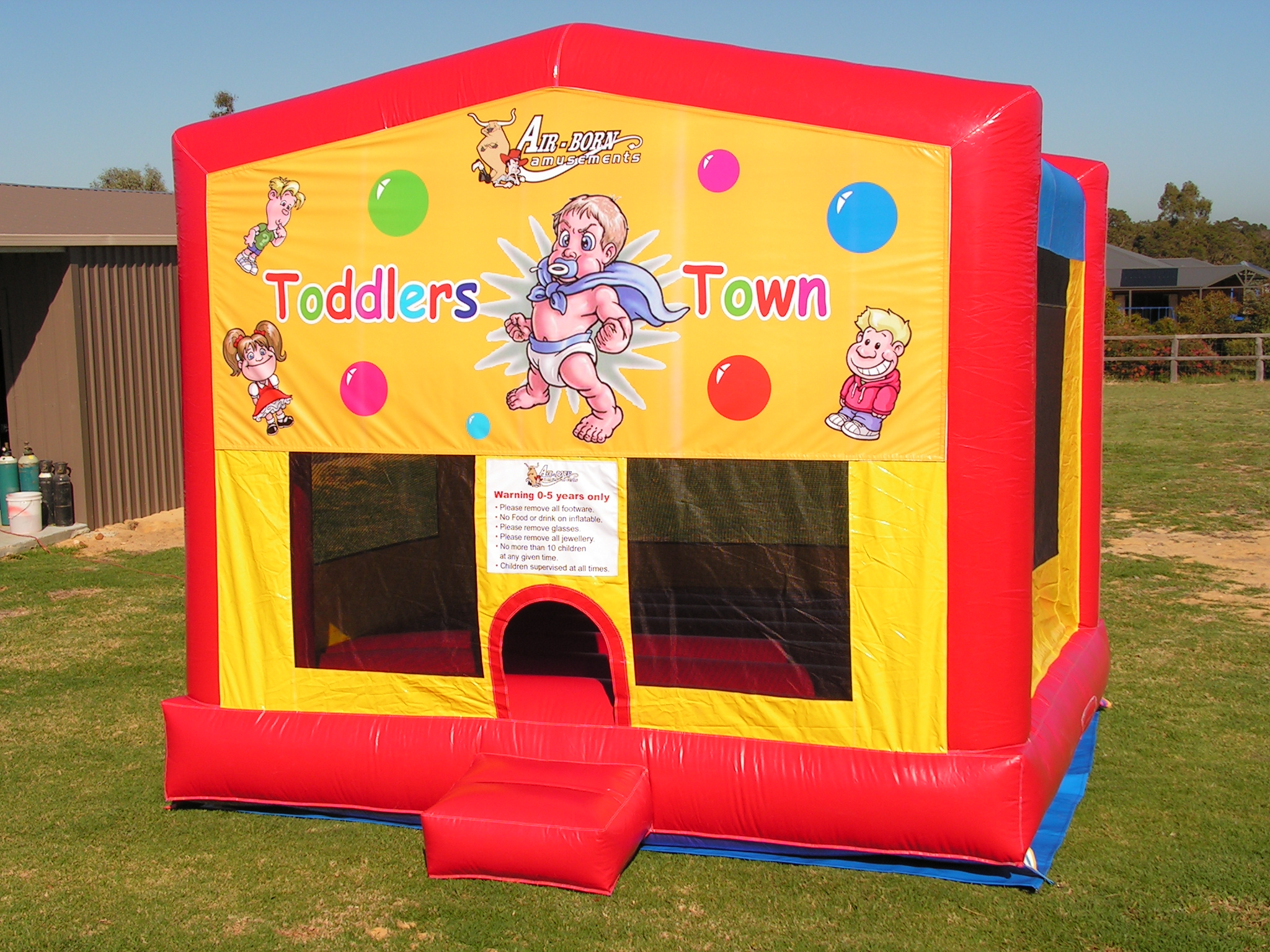 Toddler Town $250 (3 hour metro hire) Package Price -