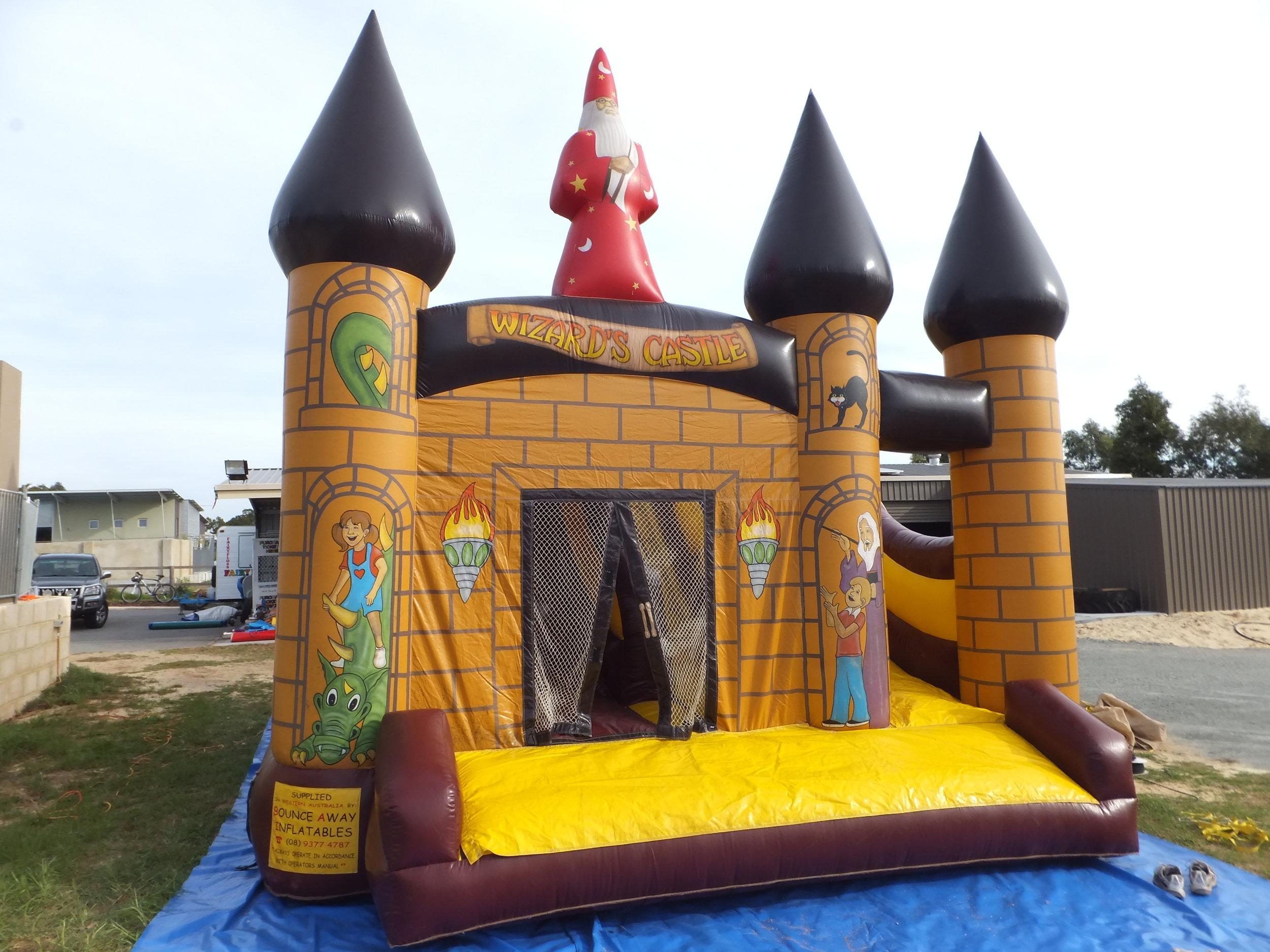 Wizard Castle $595 (3 hour metro hire)