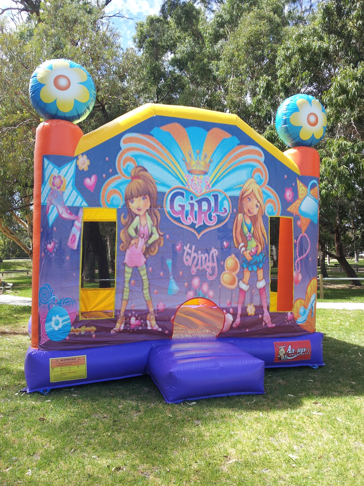 Girl Thing $250 (3 hour metro hire) Package Price