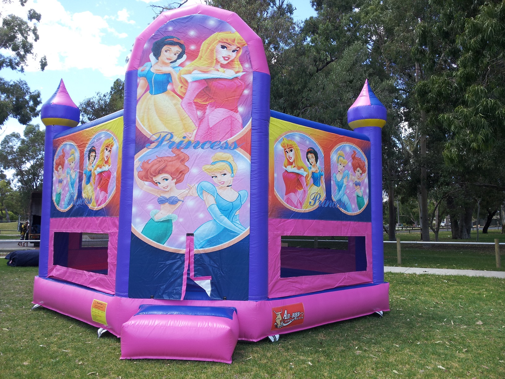 Junior Princess Castle $250 (3 hour metro hire) Package Price
