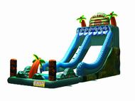 Tiki Falls Water Slide$495 (3 hour metro hire)arriving mid 2018Wet or Dry hire -