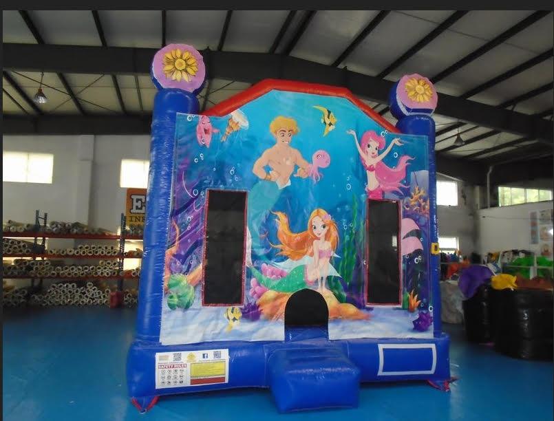 Under The Sea Bouncy Castle $385 (3 hour metro hire)