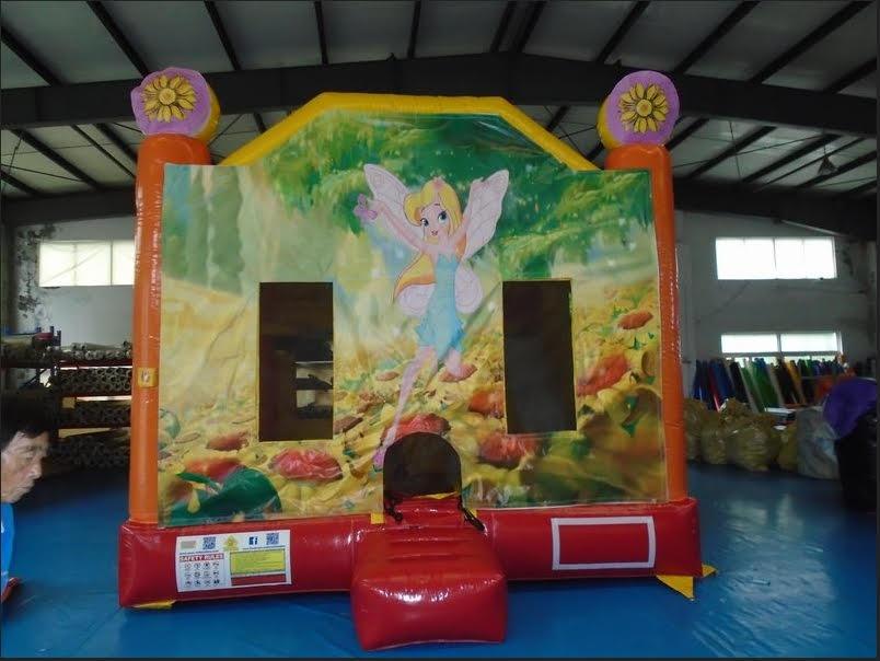Fairies 4 in 1 Combo Bouncy $440 (3 hour metro hire)