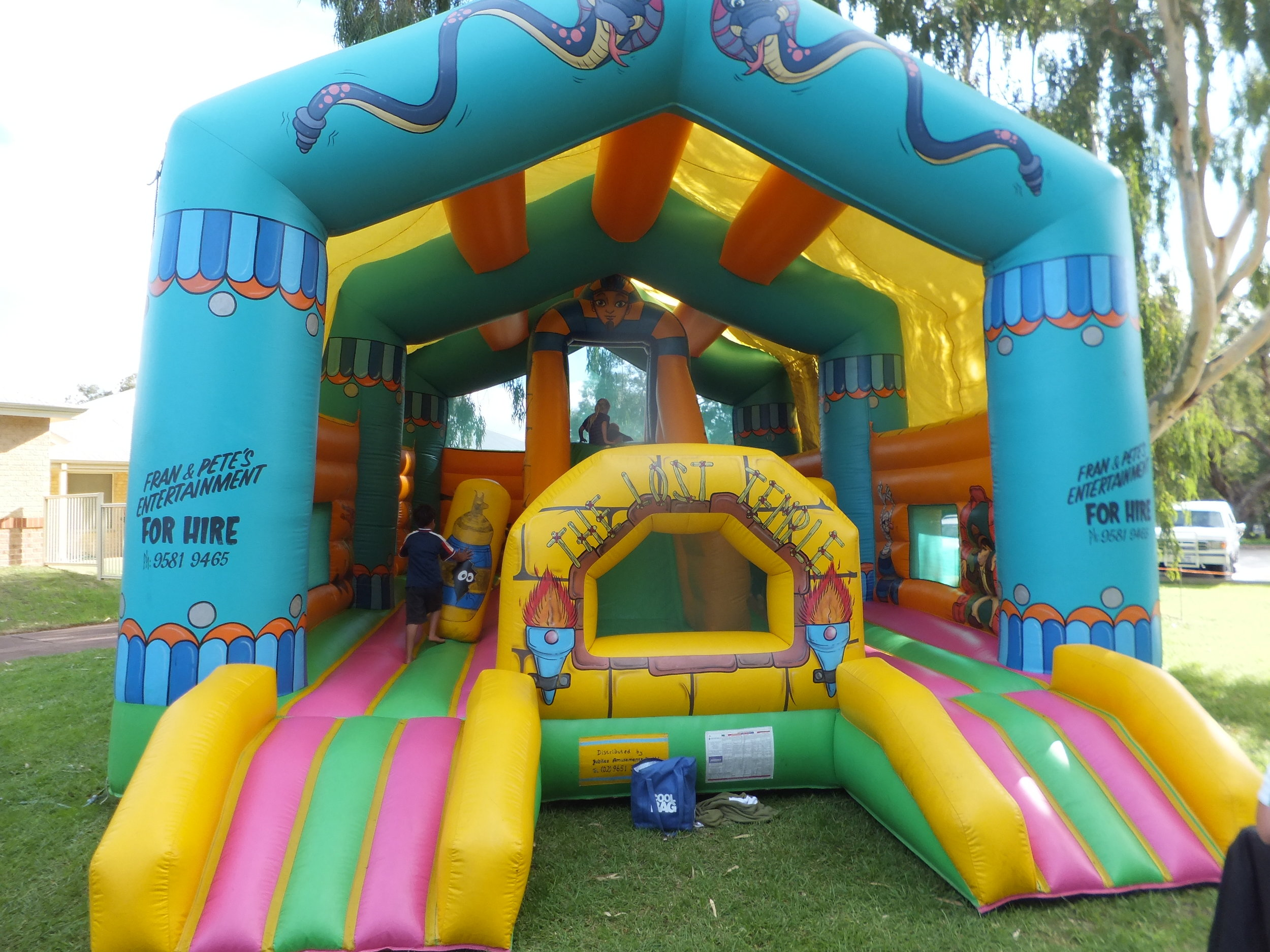 Lost Temple Bouncy Castle