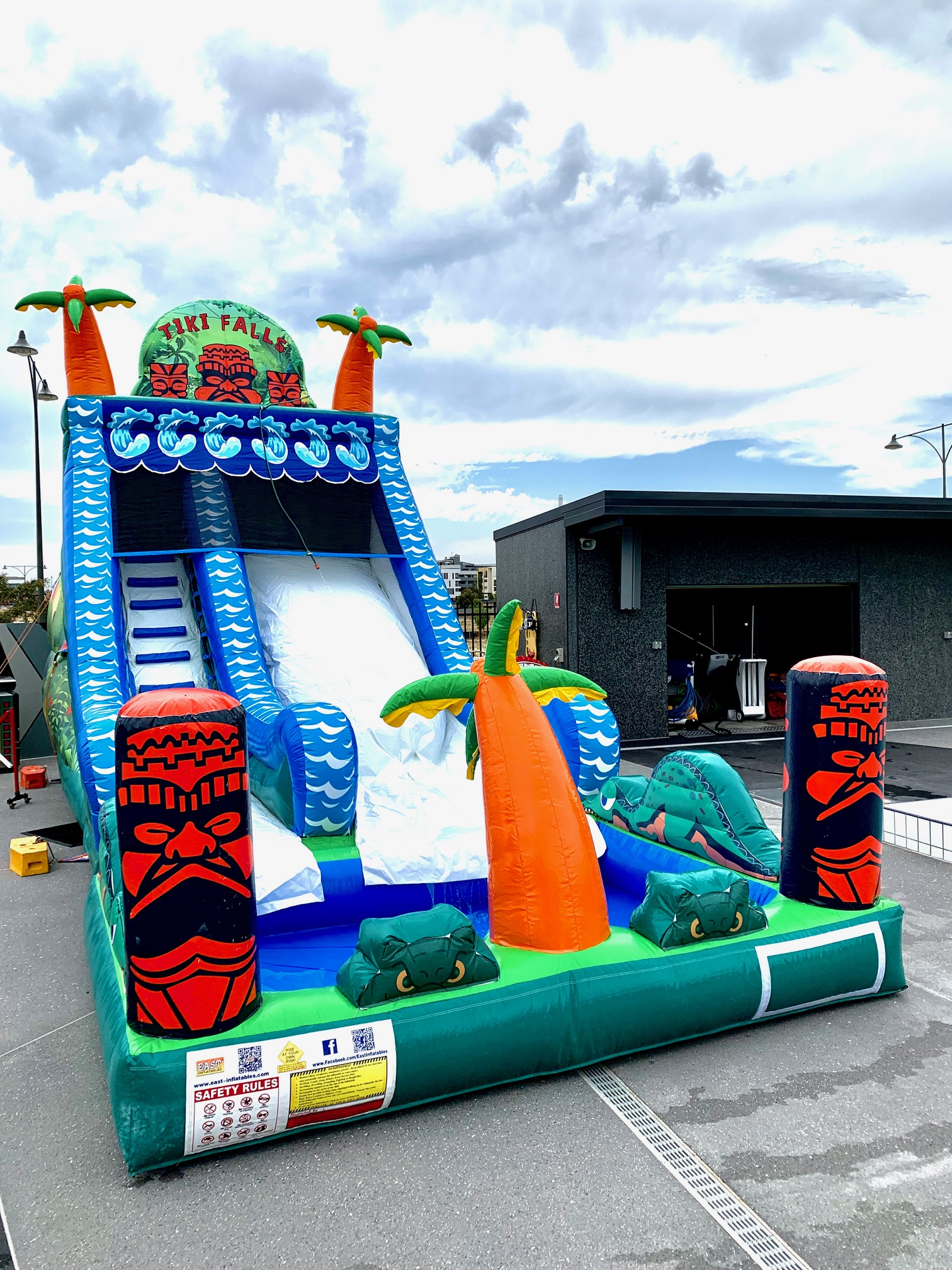 Tiki Falls Water Slide $595 -