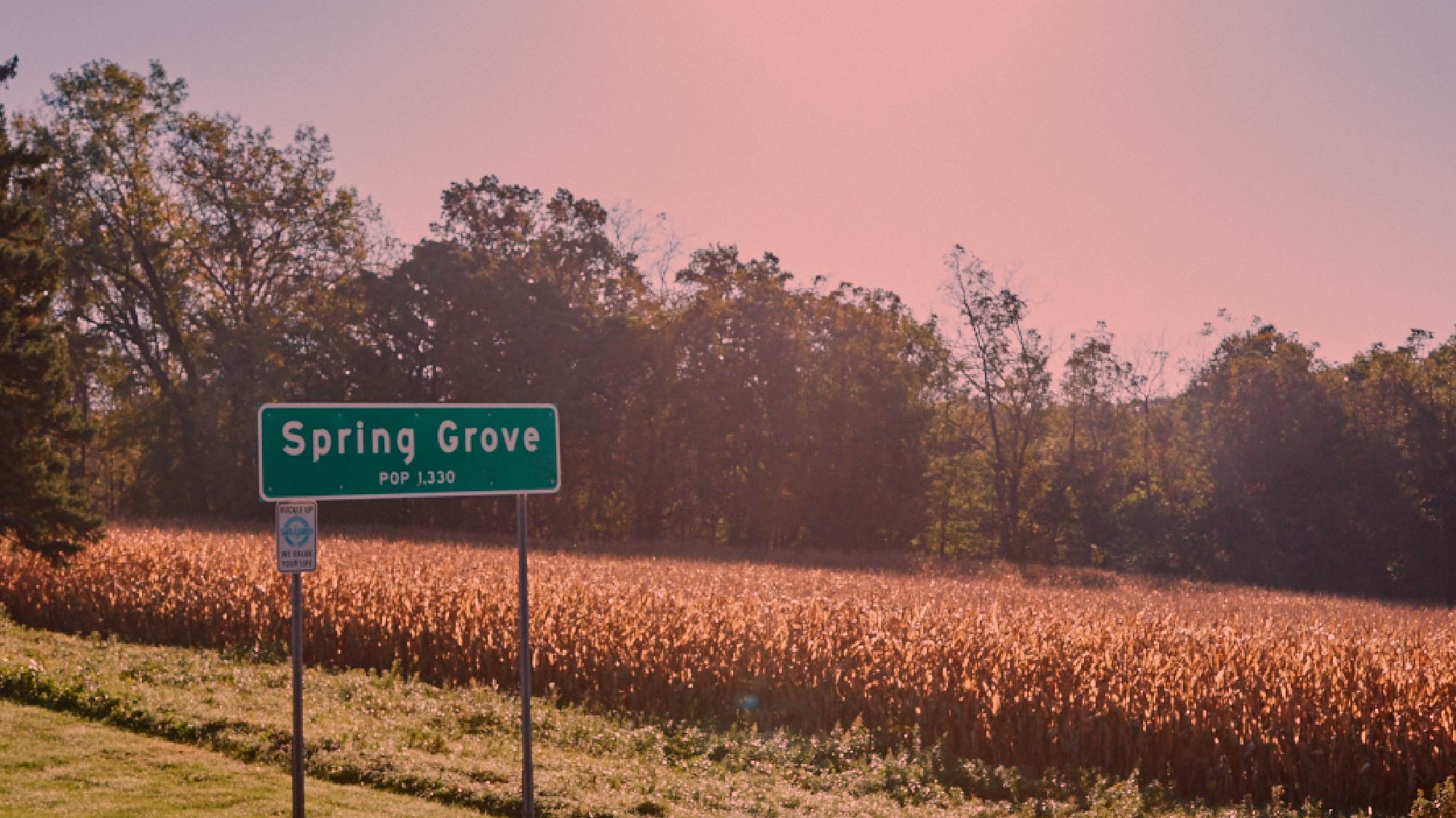 Spring Grove city limits.