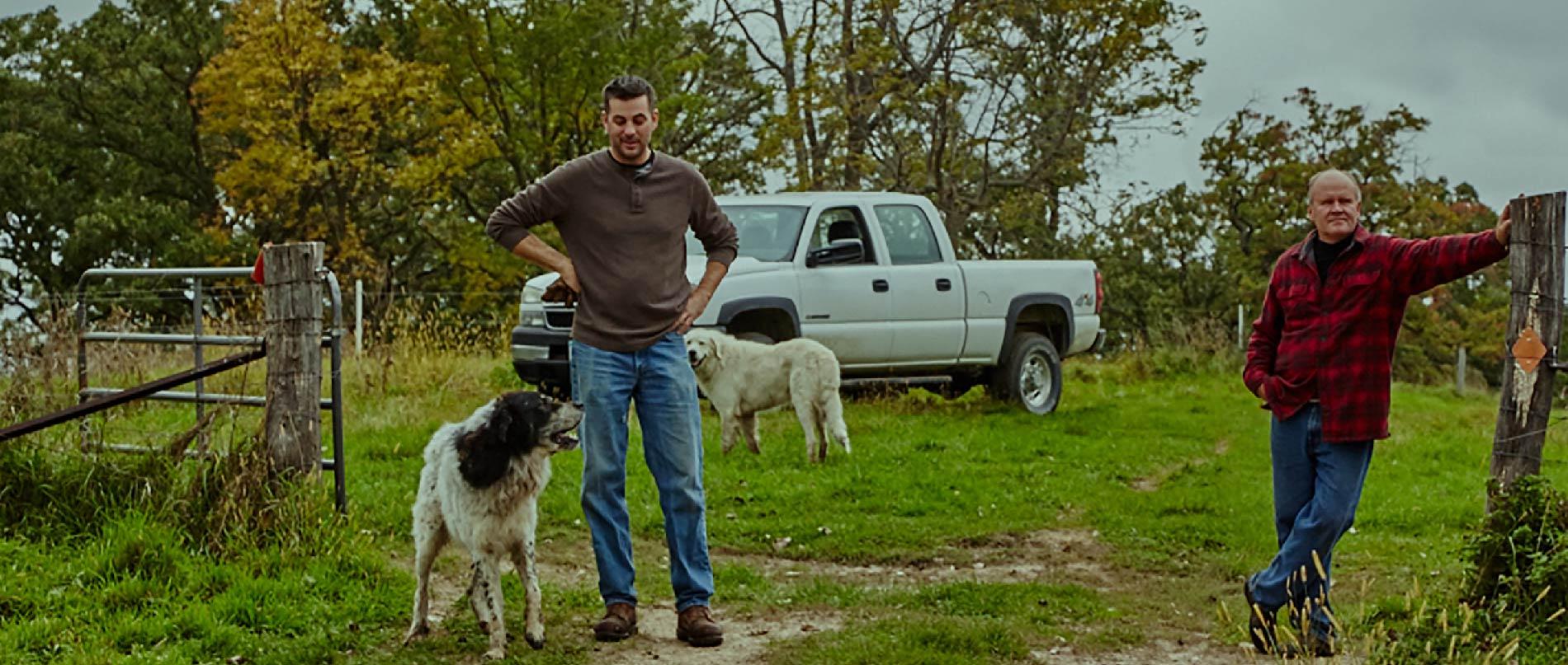 Christian Myrah and Tim Blanski, RockFilter Distillery.
