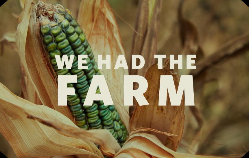 We had the farm