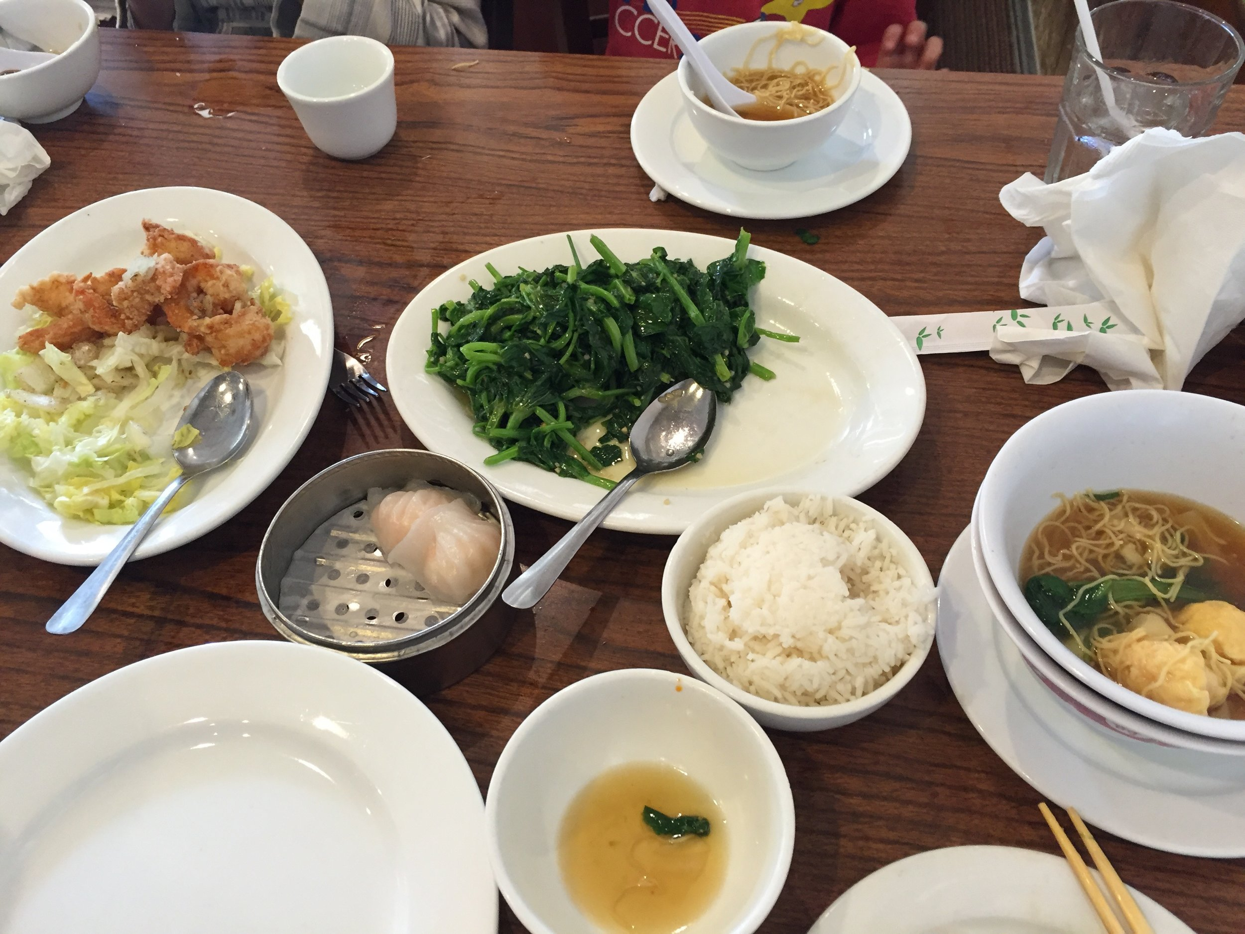 @Kohn Chau - I usually jump right in and tend to take pictures of empty plates!