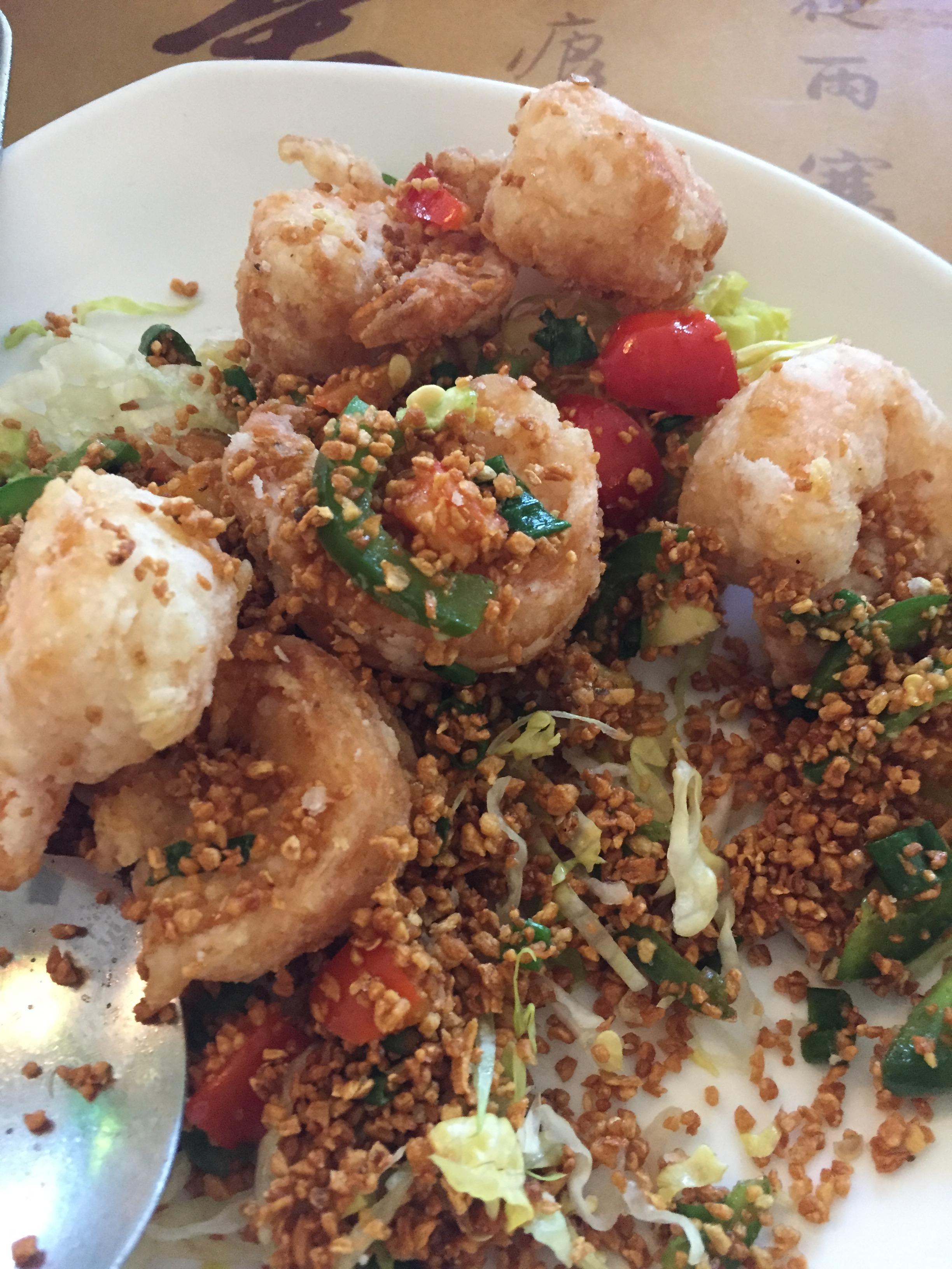 Salt & Pepper Shrimp (Ordered without shells)
