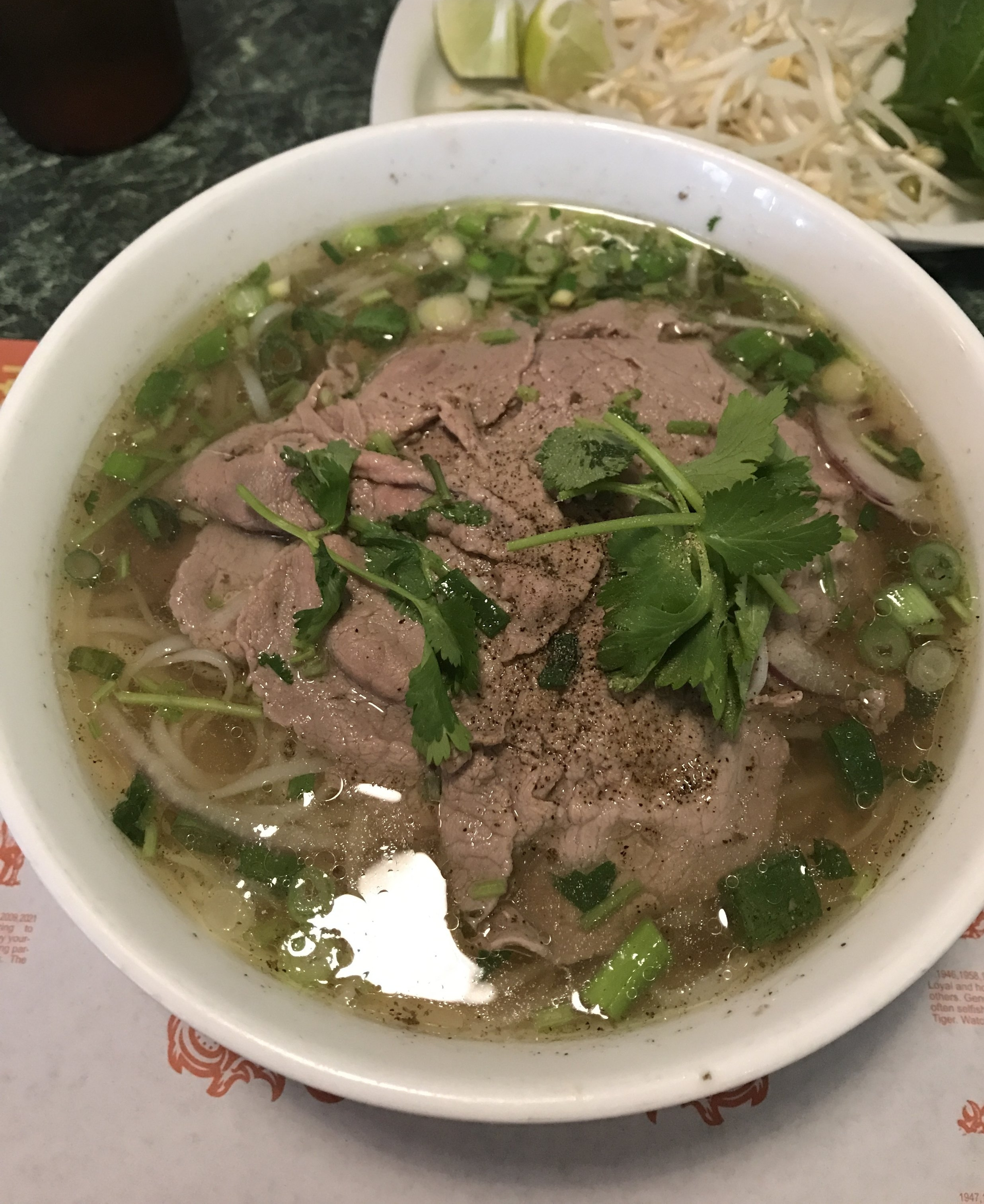 Beef Pha at Green Papaya Miami Vietnamese Restaurant