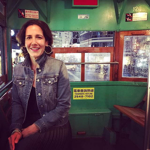 The classic #hongkong tram . . . . . . . . . . . . #traveling #fridaynight #hongkongclassic #instatravel #miamilife #hongkonggirl #hongkonger #hklove #wanchai #miamilifestyle