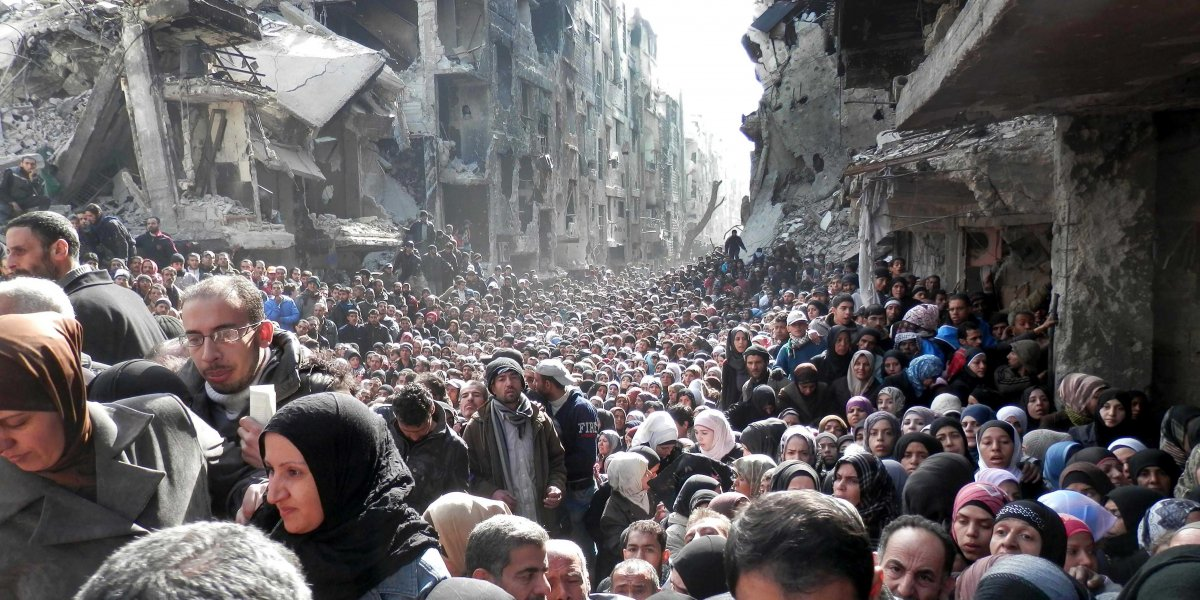 59.5 million forcibly displaced worldwide. If these 59.5 million persons were a nation, they would make up the 24th largest in the world.