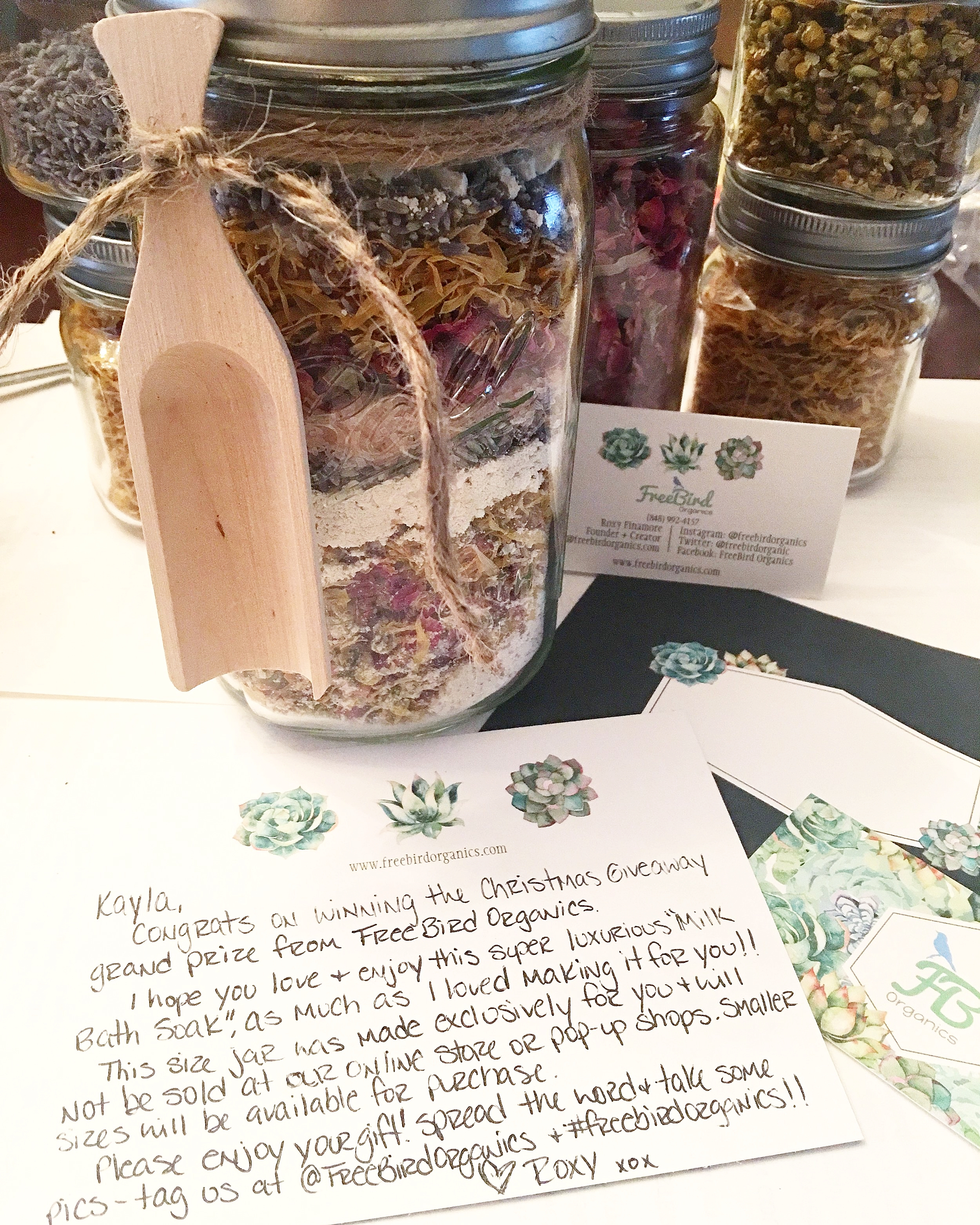 Herbal MILK Bath Soak Giveaway!!